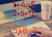 1+4=5 and 2+5=12 and 3+6=21 and 5+8=?|full solution